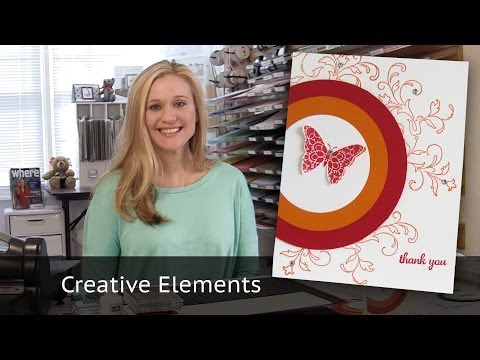 10 Cards in 20 minutes - Creative Elements Stamp Set