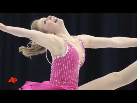 Kim Takes Big Lead in Short Program