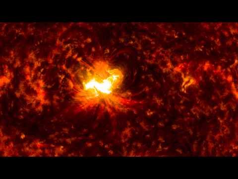 X1.6 Class Solar Flare on Sept. 10, 2014