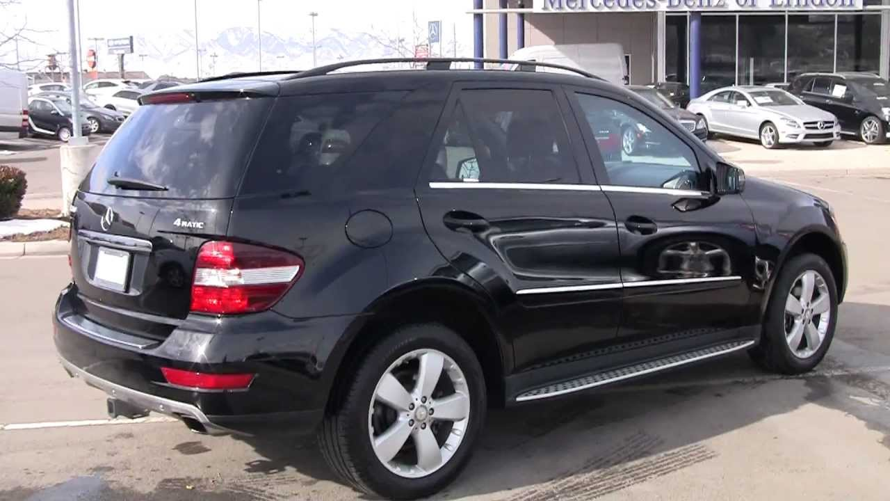 Mercedes benz 2011 ml350 ba639601p youtube for Mercedes benz ml 350 2011