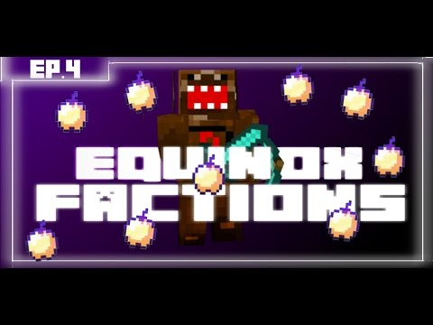 Minecraft Factions Lets Play Equinox Network 100 PEOPLE HYPE