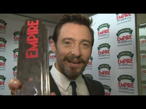 Funny Hugh Jackman interview: Hugh impersonates Arnie and talks Jennifer Lawrence