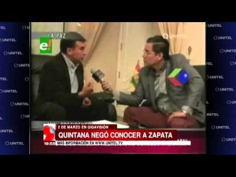 VIDEO: LO DIJO QUINTANA: NO CONOZCO PERSONALMENTE A DOÑA GABRIELA ZAPATA