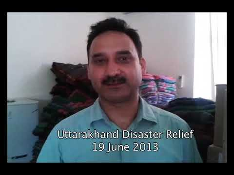 Uttarakhand Disaster Relief |  Join Shantikunj for Flood Relief Work in Uttarakhand (India)