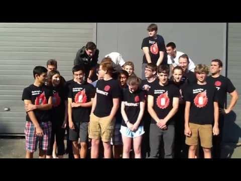 Seattle Academy Robotics Club's ALS Ice Bucket Challenge. - 09/15/2014