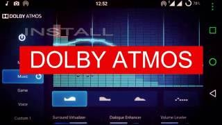 How to Install Dolby Atmos in Any Android Devices - 2017