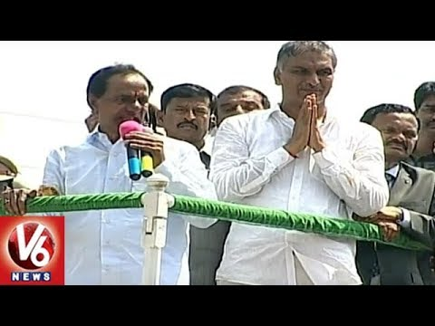 KCR Handovers Liabilities Of Praja Ashirvadha Sabha (Election Campaign) To Harish Rao | V6 News
