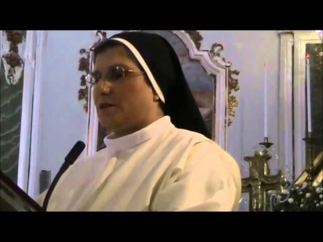 Filmato Suor M Antonella Sciumè telegramma Papa e ringraziamento