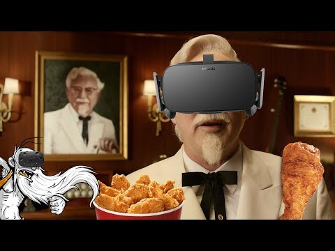 "The Hard Way VR Gameplay - ""A KFC VIRTUAL TRAINING ESCAPE ROOM!!!"" Virtual Reality Let's Play"