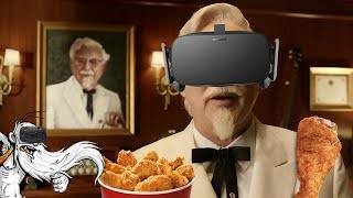 "The Hard Way VR Gameplay - ""A KFC VIRTUAL TRAINING ESCAPE ROOM!!!"" Virtual Reality Let"