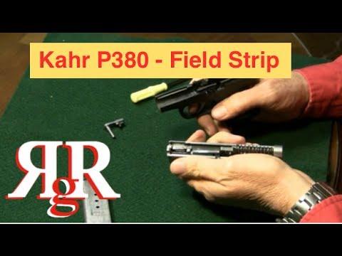 Kahr P380 Field Strip - YouTube