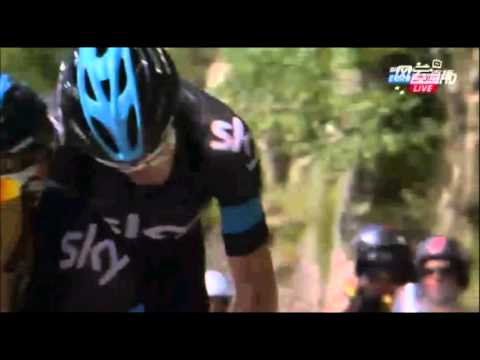 Chris Froome and Richie Porte -