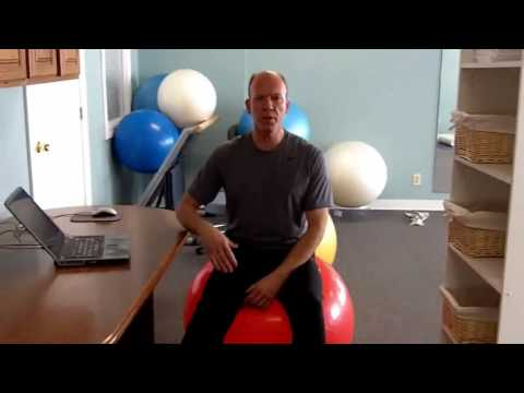 How To Use An Exercise Ball Chair Plus Standing Desk