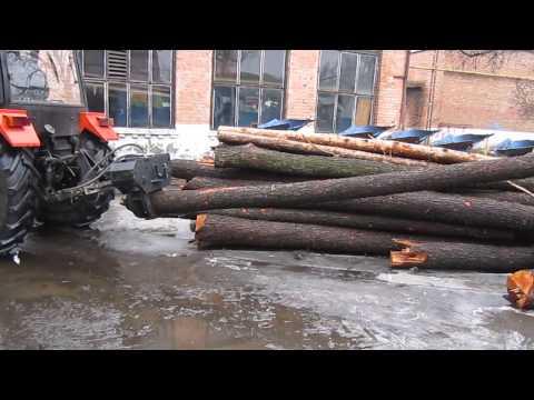 Захват для трелевки леса, гидрозахват, ПТБ-4,5М