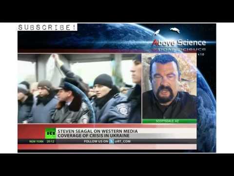 Steven Seagal on U S , Russia, and Ukraine