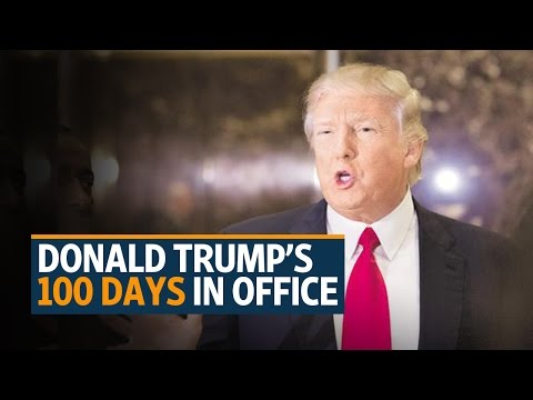 Trump's chaotic first 100 days in office