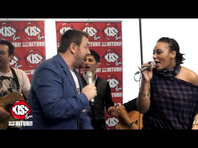Horia Brenciu & Julie Mayaya - Kiss On My Lips live la Kiss FM