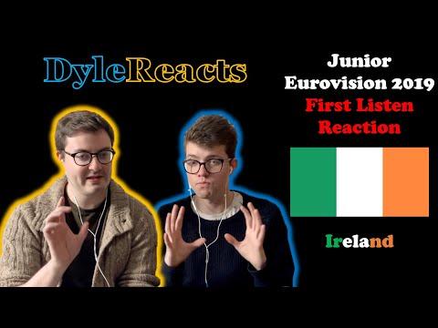Junior Eurovision 2019 - Ireland - REACTION #DyleReacts