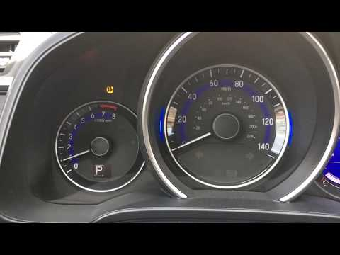 How To Reset 2016 Honda Tire Pressure Monitor System (TPMS) Warning Light