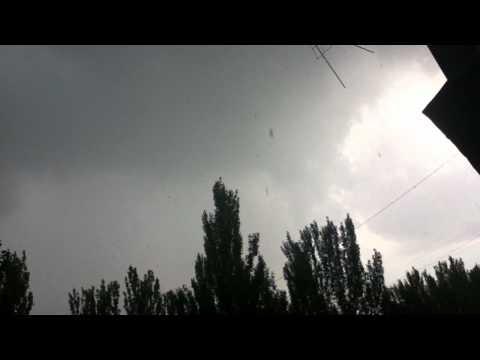 Гроза Гром Молния Балкон Испуг Икота Луганск