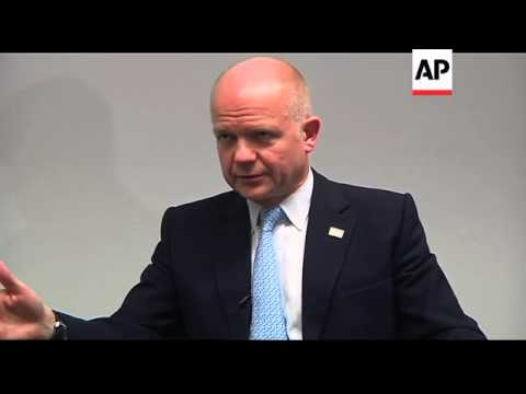 Juppe and Hague comment on Russia elections and Afghanistan