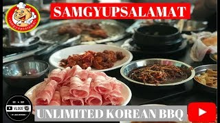 "Samgyupsalamat Unlimited Korean BBQ ""Trending in the Philippines"" (Food Vlog)"