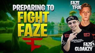 Our Toughest Competition .. Tfue and Cloakzy (Fortnite Battle Royale)