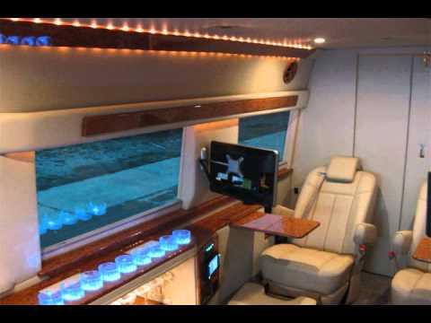 Mercedes-Benz Sprinter Mobile Office Auto Elite SP8 Diesel Executive Limousine Super Jet Van ...