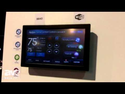 CEDIA 2014: Aprilaire Details their WiFi Thermostat