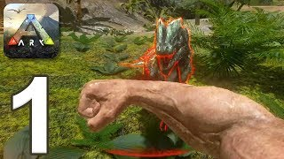 ARK: Survival Evolved Mobile - Gameplay Walkthrough Part 1 (iOS, Android)