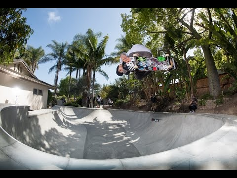 Backyard Skate Session at PLG's