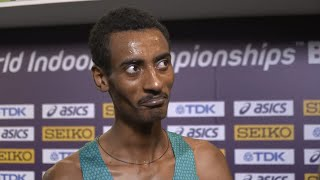 Yomif Kejelcha Successfully Defends His 3000m Title