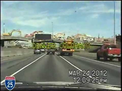 Colorado Springs CO to Denver CO Time Lapse Drive