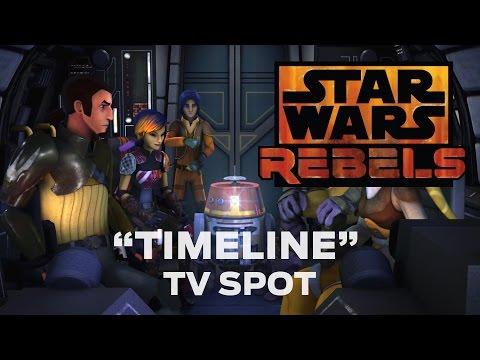 """Star Wars Rebels: """"Timeline"""" TV Spot"""