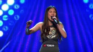 Natalie Ong's performance of Christina Aguilera's 'The Voice Within' - The X Factor Australia 2016