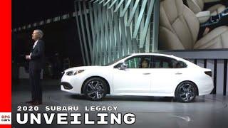 2020 Subaru Legacy Unveiling