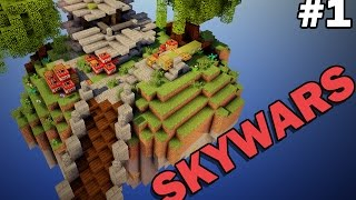 NEW INSANE MINI-GAME (Minecraft Skywars #1)