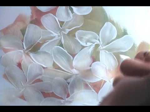 How To Make Five Petal Flowers Acrylic Paint