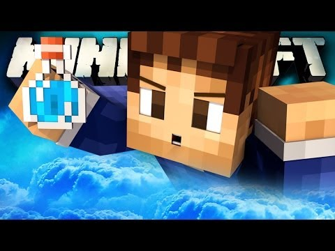 OVERPOWERED INVISIBILITY Minecraft: OP SKY WARS with Vikk and Woof