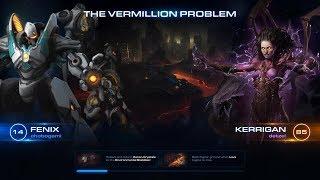Starcraft 2: Co-Op Vermillion Problem Fenix with Kerrigan Brutal