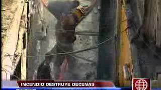 Amrica Noticias - 19.04.13 - Una Mujer Muri En Incendio En El Callao