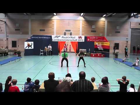 Selina Pietzko & Max Leidemer - Landesmeisterschaft Rheinland- Pfalz 2012