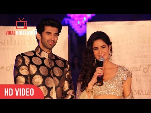 Aditya Roy Kapur | Katrina Kaif | Manish Malhotra | Full Interview Fashion Show of regal Threads