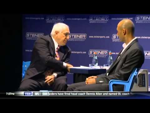 Brandon Steiner interviews Derek Jeter about retirement in