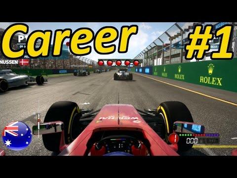 F1 2014 Career Mode Part 1: Melbourne, Australia