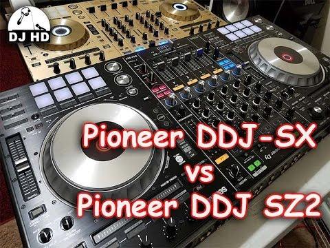 Pioneer DDJ-SX vs SZ2: Which is better