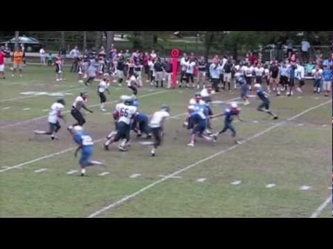 2011 Bryce Newman The Bolles School Football Highlights 8th Grade (Class of 2016)