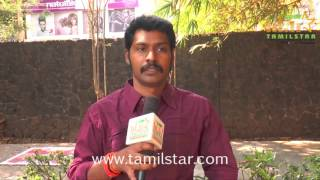 T R S Anbu At Moondram Ulaga Por Movie Team Interview