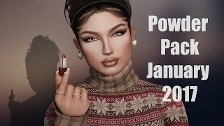 Powder Pack January 2017 - Second Life Subscription Box Unboxing Video!