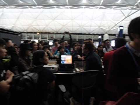 Complaints to Air Asia - Hong Kong to Kota Kinabalu Cancelled Flight - Part 2 - March 2013.AVI